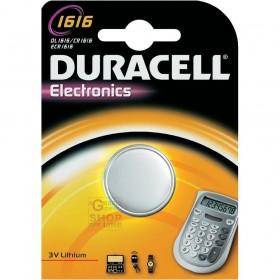 DURACELL BATTERY CR1616 BL.1PZ