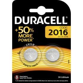 DURACELL BATTERY CR2016 W.3 PCS. 2