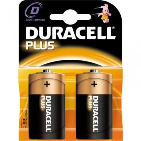 DURACELL ALKALINE BATTERY TORCH MN1300 PCS. 2