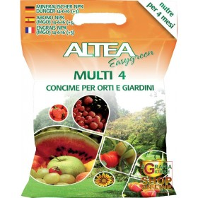 ALTEA MULTI 4 SLOW RELEASE GRANULAR FERTILIZER FOR GARDENS AND
