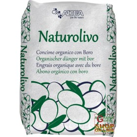 ALTEA NATUROLIVO ORGANIC NITROGEN FERTILIZER WITH BORON - SPECIFIC FOR OLIVES KG. 22.5