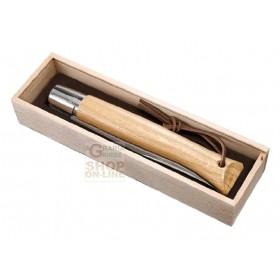 OPINEL COLTELLO VIROBLOC GIAGANTE PLUMIER CON BOX IN LEGNO CON