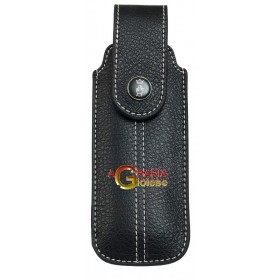 OPINEL BLACK CHIC LEATHER SHEATH