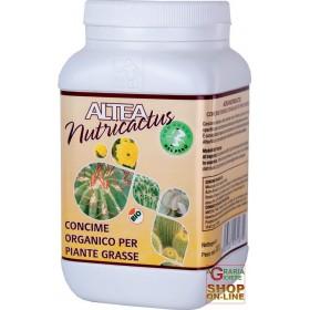 ALTEA NUTRICACTUS CONCIME ORGANICO GRANULARE PER PIANTE GRASSE