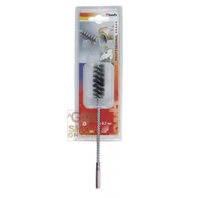 Eenhell Spazzola elicoidale per tubi filo di acciaio ondulato