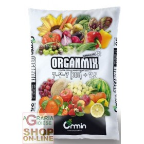 ORGANMIX ORGAN MINERAL FERTILIZER 7.7.7 (30) +7.5 KG. 25
