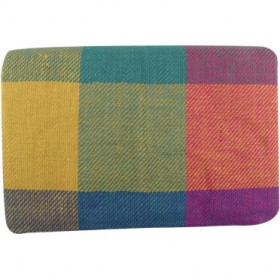OUTLIVING BLANKET FOR PIC NIC WITH ANTI-DAMP PVC LINING OU 586 YELLOW