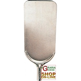 ALUMINUM OVEN SHOVEL FOR BREAD WITHOUT HANDLE CM. 16.5 X 32