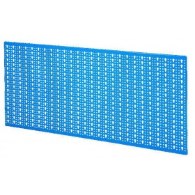 PERFORATED EXHIBITOR PANEL CM. 98X46 BLUE