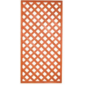 WOODEN GRILLED PANEL CM. 90x150h.