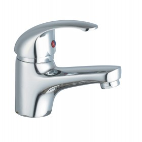 EURO SERIES MIXER SINGLE LEVER BASIN GROUP IN CHROMED BRASS