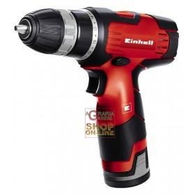 Einhell 12v 1.3ah lithium battery screwdriver mod. TH-CD 12-2 Li
