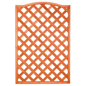GRILLED SHAPED WOODEN PANEL CM.90x150h.