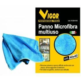 MULTIPURPOSE MICROFIBER PIPPO CLOTH BLUE 61498 CM. 40X40