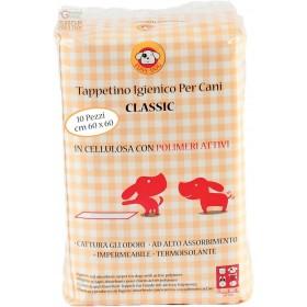 PANNOLINO CLASSICO PER CANI 60X60 CON POLIMERI TAPPETINO