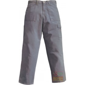 100% COTTON CANVAS DOUBLE TWISTED MUD COLOR TROUSERS SIZE SML