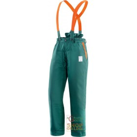 TROUSERS 65% POLYESTER 35% COTTON PADDED FOR USE OF CHAIN SAWS EN 381 5 TG SML XL XXL XXXL