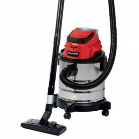 Einhell Aspitatuttto bin with 18V 3Ah lithium battery TC-VC 18/20 LI