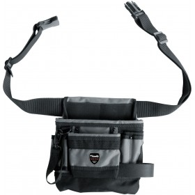 Einhell Tool bag with belt with 8 compartments