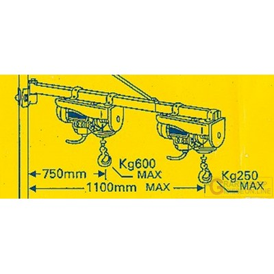 Einhell Arm for extensible hoist GT-SA 1200