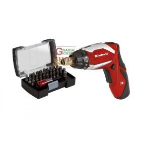 Einhell 3.6v 1.5ah lithium battery screwdriver mod. TE-SD 3,6 Li with kit