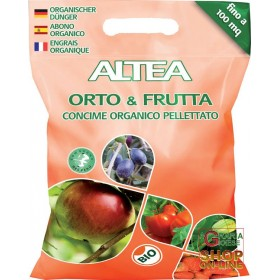 ALTEA ORTO & FRUTTA ORGANIC PELLET FERTILIZER FOR VEGETABLES AND FRUIT PLANTS 5 Kg
