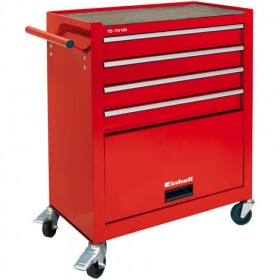 Einhell TC-TW 100 tool and tool trolley 5 drawers