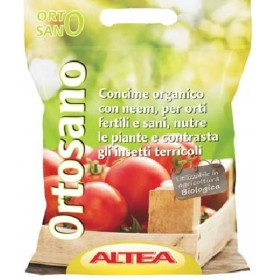 ALTEA ORTOSANO GRANULAR ORGANIC VEGETABLE FERTILIZER KG. 22.5