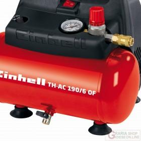 Einhell Compressore elettrico TH-AC 190/6 OF lt. 6 hp. 1,5