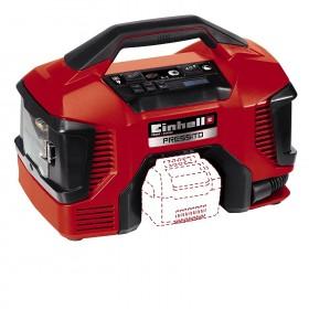 Einhell Compressore IBRIDO corrente E batteria TE-AC 18/11 Li