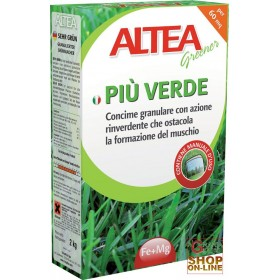 GREENER ALTEA FERTILIZER THAT OBSTACLES THE FORMATION OF MOSS 2 Kg