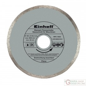 Einhell Disco diamantato 178 x 25 4 x 1 6 mm
