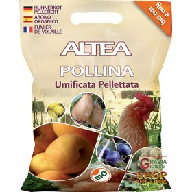 ALTEA POLLINA HUMIFIED PELLET ORGANIC FERTILIZER KG. 5