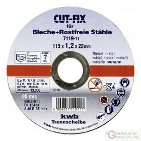 Einhell Disco troncatore CUT-FIX per metallo per smerigliatrici
