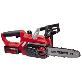 Einhell Electric chainsaw with lithium battery 18v 3ah GE-LC 18 Li