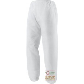 TROUSERS IN PLP GR 40 WHITE COLOR TG ML XL XXL