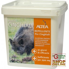 ALTEA REMOVE WILD BOARS NATURAL OLFACTORY BARRIER AGAINST WILD