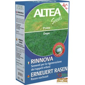 ALTEA RENEWS SEEDS FOR REGENERATION OF LAWN CARPETS 1 Kg