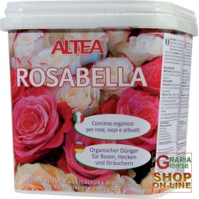ALTEA ROSABELLA ORGANIC GRANULAR FERTILIZER FOR ROSES, HEDGES AND SHRUBS kg. 3.5