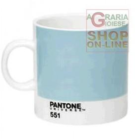 PANTONE TAZZINA PER CAFFE ESPRESSO IN PORCELLANA COLORE CANAL
