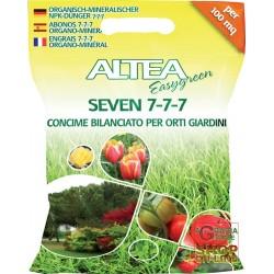 ALTEA SEVEN 7- 7- 7 BALANCED GRANULAR FERTILIZER FOR VEGETABLES AND GARDENS 5 Kg