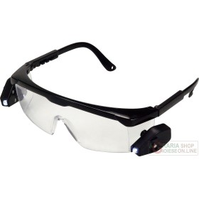 Einhell Work glasses with 2 LED lights