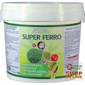 ALTEA SUPER FERRO RINVERDENTE ANTIMUSCHIO GRANULARE kg. 5