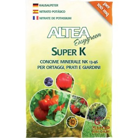 ALTEA SUPER K MINERAL FERTILIZER NK 13-46 FOR VEGETABLES, FRUITS AND GARDENS 2 Kg