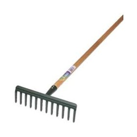 PAPILLON RAKE WITH HANDLE CM. 130 TEETH 12