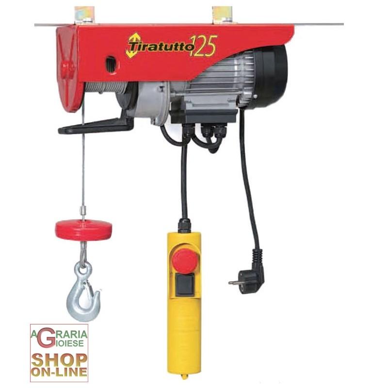Vigor paranchi elettrici e manuale paranco elettrico for Paranco elettrico 1000 kg