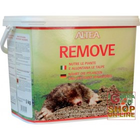 ALTEA TALPASTOP FEEDS THE PLANTS AND REMOVES MOLES AND MICE CAMPAGNOLI REMOVE 5 Kg
