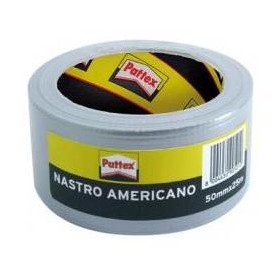 PATTEX TAPE AMERICAN GRAY MM. 50 MT. 25