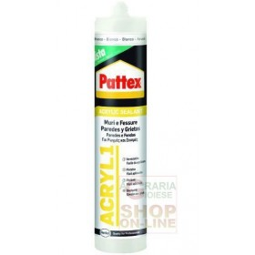 PATTEX ACRYLIC SEALANT WHITE ML. 300