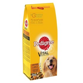 PEDIGREE CROQUETTES FOR DRY ADULT DOGS WITH CHICKEN AND VEGETABLES KG. 3